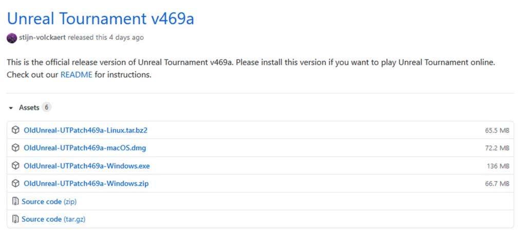 Unreal Tournament v469a
