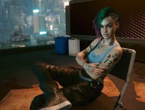 Judy Cyberpunk 2077