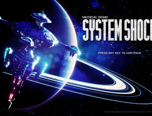 System Shock PC Demo