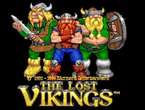 The Lost Vikings Blizzard Classic Arcade