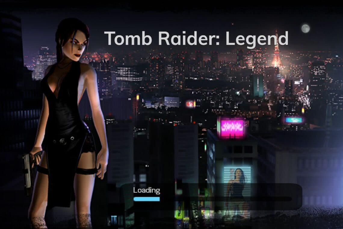 Tomb Raider Legenda Lara Croft Japonia