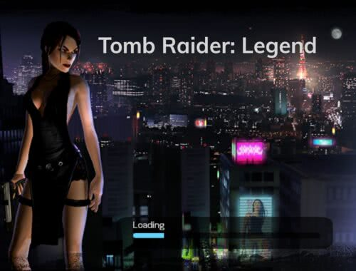 Tomb Raider Legenda Lara Croft Japonia