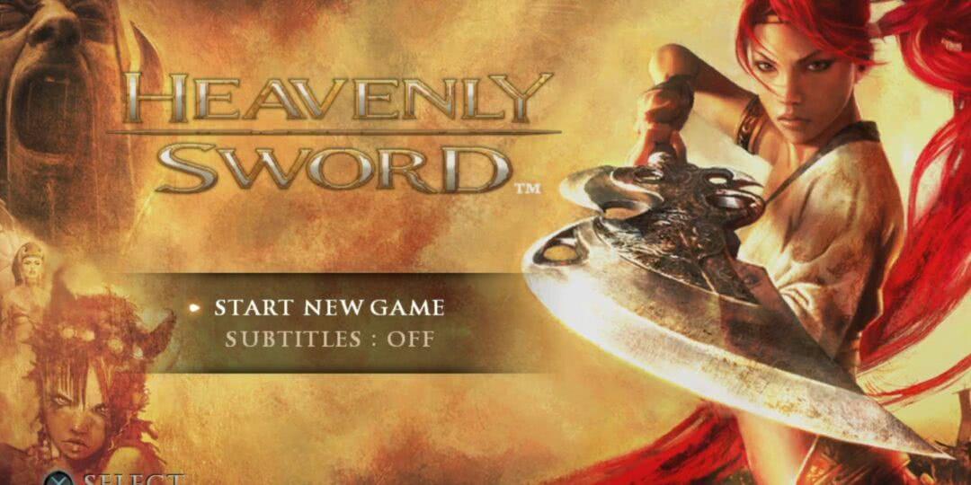 Heavenly Sword PS3 Noriko